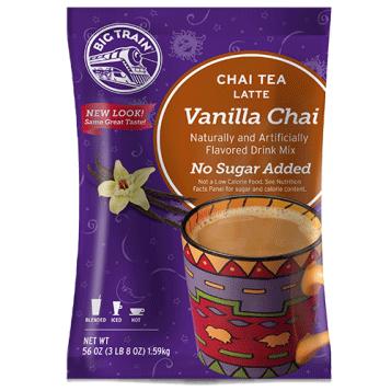 Big train vanilla no sugar added chai